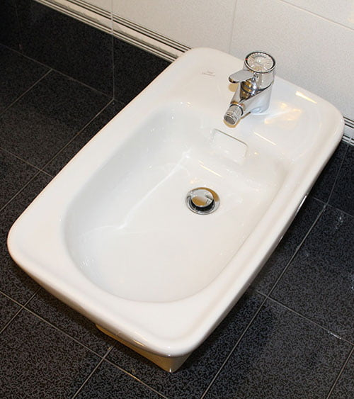 Traditional ceramic bidet