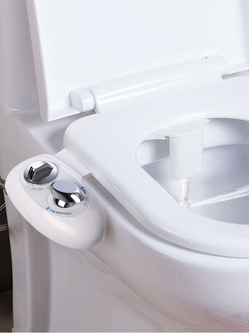 Bidet with adjustable nozzle