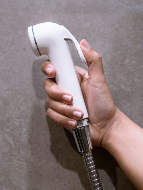 Plastic handheld bidet sprayer