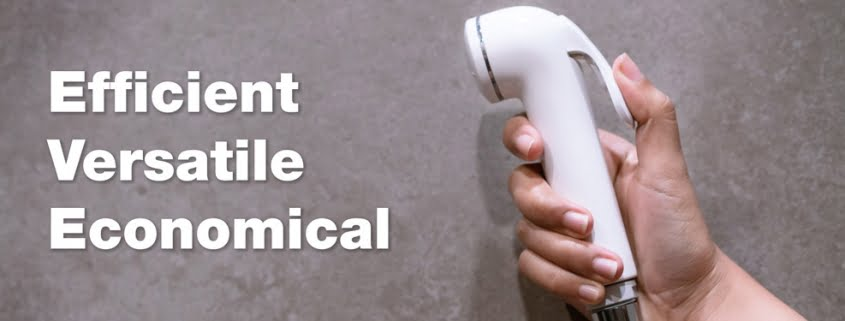 Handheld bidet sprayer